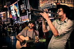 Jazz at Time Square (2012) (jfraile (OFF/ON slowly)) Tags: nyc timessquare