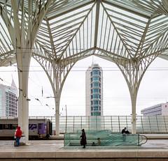 _DSC3285 (durr-architect) Tags: oriente station lisbon portugal santiago calatrava rough concrete steel structure space glass floor train metro arches beams modern architecture expo platforms bridge