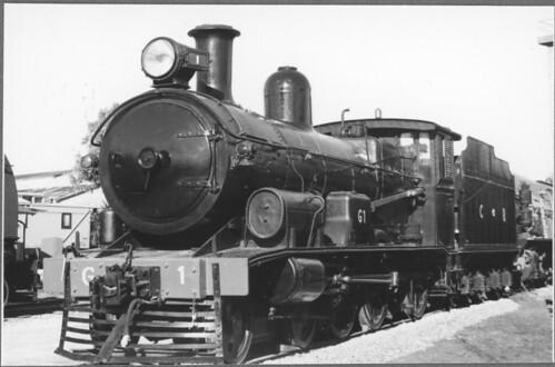Mile End Railway Museum - Mile End - South Australia loco CR G1 (jr-065)