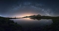 Miera (Pablo RG) Tags: milkyway via lactea estrellas verano naturaleza cantabria miera nightphotography nikon noche pozos de noja
