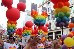 Pride London. Disney (ec1jack) Tags: lgbt gay pride london westminster england britain uk europe july 2018 kierankelly canoneos600d ec1jack parade costumes rainbow party carneval festival disney balloons