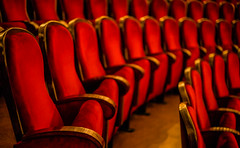 Seat Up! (TablinumCarlson) Tags: europe bulgaria bulgarien sofia leica m m240 summicron available light theater oper opera inside architektur architecture culture kultur licht staatsoper ballett rang sitz seat dof situp house opernsaal saal 50mm