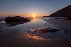 Sunset (khan.Nirrep.Photo) Tags: sky seascape sea sunset sable soleil sun finistère canon6d ciel canon1635mm canon couchédesoleil rochers rocks reflet presquile bretagne breizh beach longexposure flickrunitedaward