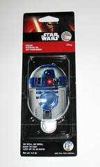 r2-d2 ocean scent star wars the force awakens car air freshener by aroma drive 2015 mosc a (tjparkside) Tags: r2d2 ocean scent star wars force awakens air freshener fresheners scented disney car aroma drive 2015 r2 d2 astromech droid droids artoo detoo by mosc