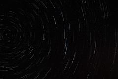 Ursa Major orbits Polaris (j.lowell.w) Tags: stars layered longexposure night