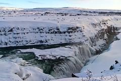 Gullfoss (carlosbermejobarbanoj) Tags: landscape snow ice water waterfall gullfoss winter nikon nikkor d3300 iceland travel agua cascada viaje islandia hielo invierno nature naturaleza