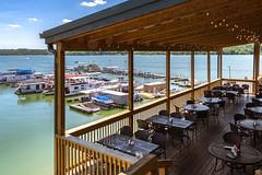 Ainsley's Café Deck, Overlooking Kent's Harbor Marina (WayNet.org) Tags: waynet wayne county indiana ainsleys brookville lake the sagamore resort waynetorg kents harbor union brookvillelake kentsharbor thesagamoreresort unioncounty waynecounty