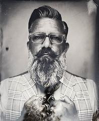 #facialhairfriday in #Detroit is serious when you get a #tintype #photograph thank you @ancientkind ! #depictthed #detroit_igers #blackandwhite #bw #beardsofinstagram #beard #beardstyle #beardandtattoos #beardfraternity #beardcode #beardetiquette #beardga (mindchip) Tags: ifttt instagram bespoke vintage
