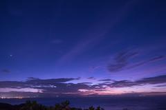 P7214716 (kunmorita) Tags: star 星 海 空 夜空 夜間撮影 sea sky night 夕焼け マジックアワー magic hour 黄昏