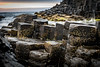 Giant's Causeway (blue5011b) Tags: ireland giantscauseway shore rocks rockformations close shallow depthoffield ocean sea goldenhour travel nikon d810 2470mm
