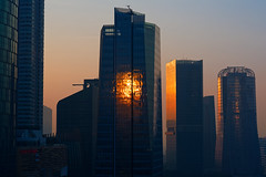 Sunrise in the City (code_martial) Tags: d750 85mmf18g sunrise cityscape city jakarta indonesia