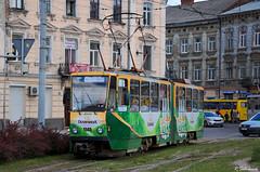 Tatra KT4SU-1145, Lviv, 2018/05/21. (lg-trains) Tags: ukraine ukrainian lviv trams tramways