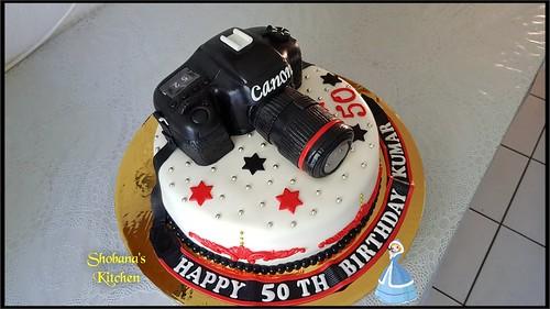 Stupendous Camera Birthday Cake 50Th Birthday Cake A Photo On Flickriver Funny Birthday Cards Online Benoljebrpdamsfinfo