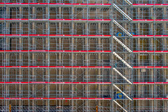 Echafaudages (axel274) Tags: d3400 lausanne nikon schweiz suisse switzerland vaud muséecantonaldesbeauxarts mcba plateforme10 chantier échafaudages construction