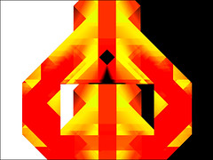 colored geometry (j.p.yef) Tags: peterfey jpyef yef digitalart geometry abstract abstrakt yellow red black
