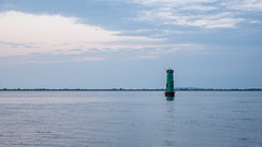 Lighthouse - DSC_0159 (John Hickey - fotosbyjohnh) Tags: 2018 july2018 southwall lighthouse green sea seascape minimalism sky colour dublin ireland nikon nikond750 northwall irishsea building architecture coast coastline seashore water