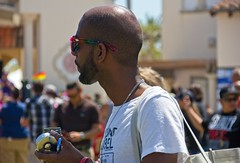 Pride 2018 72 (LarryJay99 ) Tags: pridefest2018 2018 lakeworth florida festival people light man men guy guys dude male studly manly dudes handsome gayfest festivals prideevents people2018 canon60d blackmale black sunshades sunglasses glasses faces facialhair