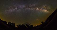 Milky Way Panorama (CaptSpaulding) Tags: canon california color contrast clouds centralcoast 6d rokinon landscape light nature night nightshot milkyway sky space stars santamargarita unitedstates