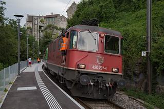 SBB Re 4/4 420 297 Verbano Express