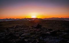 High Altitude Sunset (San Francisco Gal) Tags: sunset neversummermountains tundra specimenmountain rock rockymountainnationalpark rockymountains frontrange rmnp colorado ngc npc