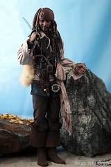 109 (SEANW5484) Tags: hot toys dx15 captain jack sparrow pirates caribbean dead men tell no tales