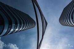 Blue view (gelein.zaamslag) Tags: architecture geleinjansen reflection blue nederland thenetherlands spiegeling arnhem