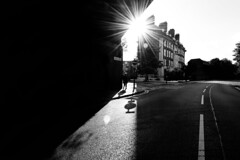 IMG_9674 (JetBlakInk) Tags: brixton lowkey magichour silhouette perspective minimalism streetphotography streetscene starburst