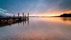 Lac de Brennilis (Soregral) Tags: longexposure paysage ciel nuages brittany nuage poselongue techniquephoto bretagne lumière leverdesoleil leefilter