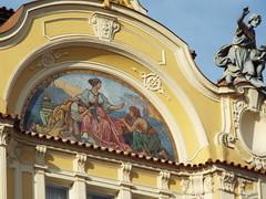 Staré Město pražské (missemorris) Tags: prague czechrepublic travel praha oldtownsquare europe yellow pastel staréměstopražské