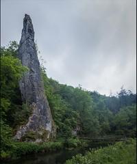 Ilam Rock (The Shiba) Tags: ilam rock limestone pillar rdove river dove dovedale derbyshire staffordshire tiled panorama lightroom