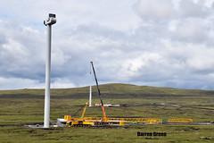 STRONELAIRG WIND FARM (Darren (Denzil) Green) Tags: tower turbine wind mcfadyenstransport hub transport mcfadyens cranehire heavylifting sse nacelle windturbine vestas liebherr lg bms stronelairg globalportservices services port global