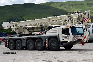 MCFADYENS TRANSPORT LTD TEREX EXPLORER 5600 AC160 AE64 HLO