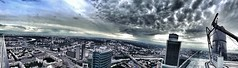 Moscow City very very high #panorama (NO PHOTOGRAPHER) Tags: hochhaus gebäude cityscape skyline detail construction blackandwhite monochrome architecture architectural urban building outdoor iphoneography iphonephotography exterier russia moscowcity technoart sky clouds moscowphotography blue light shade dark shadow city geometric lookingup window skycraper iphone 6s p aboutlove analogy freestyle fineart blackandwhitephoto monocromephotography bnw bw hochhauspanorama panoramatic 7 москва россия архитектура строительство река мост photography mobile mobilephotography square panorama