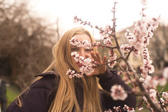 500px Photo ID: 251070511 (albertoandaloro) Tags: flowers beautiful girl fashion beauty caucasian person natural spring woman attractive portrait cute pink hair skin model up happy outdoor people nature pretty face green care lady lips wellness