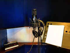 Time to Sing (Pennan_Brae) Tags: musicproduction vocalist musicproducer musicphotography singer singing sing microphones recordingsession recording recordingstudio vocals musicstudio microphone