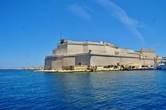 2016-06-08g rejs - Vittoriosa (21) (aknad0) Tags: malta vittoriosa morze architektura krajobraz statki