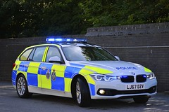 LJ67 DZV (S11 AUN) Tags: durham constabulary bmw 330d 3series xdrive touring anpr police traffic car rpu roads policing unit 999 emergency vehicle lj67dzv