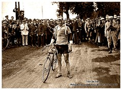 1920 TDF PHILIPPE THYS The Almost Perfect Champion (Sallanches 1964) Tags: philippethys belgiancyclists tourdefrancewinners 1920 roadcycling yellowjersey