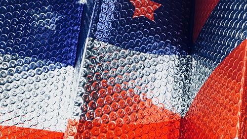 US Flag Foil Sunshade #1 #jcutrer