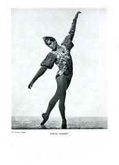 de Basil's Ballets Russes: (painting in light) Tags: eugeniedelarova eugeniadelarova photo mauriceseymour chicago eugenie delarova eugenia maurice seymour 1937 de basil ballets russes colwdebasilsballetsrussesdemontecarlo ballet feet dance dancing usa roman jasinsky poland