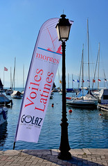 Au vieux Port de Morges (Diegojack) Tags: morges vaud suisse d7200 nikon nikonpassion manifestation voileslatines rencontre bateaux gréement voiliers