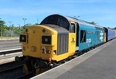 COLAS Rail 37025 - Skegness (the mother '66' 66001) Tags: colasrail colas class37 37025 largelogo br highlandrail rail railways skegness derby derbyrtc