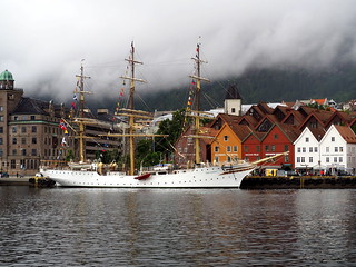 El puerto de Bergen