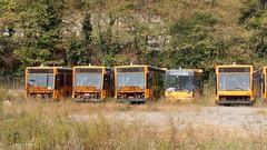 AMT 3813, 3830, 3803, 4512 e 3804 (Lu_Pi) Tags: amt genova autobus bus busaccantonato busradiato autobusradiati bolzaneto iveco iveco490 turbocity turbocityur bredamenarinibus bmb m230mu