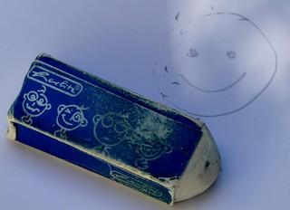 Eraser often used
