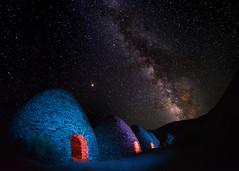 Death Valley Nights (johnsinclair8888) Tags: death valley deathvalley nikon night stars lightpainting milkyway mars longexposure kiln wildrosecanyon johndavis 15mm affinityphoto sliderssunday hss