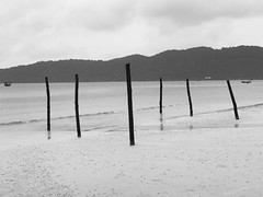 Koh Rong Samlon (Broad Sunlit Uplands) Tags: travel nature remote white black beach