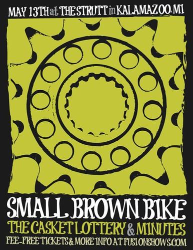 smallbrownbike-poster