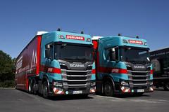 """Scania R NextGen """" GRUBER Logistics """" (D) (magicv8m) Tags: tir trans transport lkw gruber scania r nextgen"""