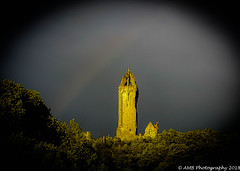 Wallace Rainbow (Alloa2013) Tags: rainbow scotland stirling wallacemonument weather samsung s7 android mobile history braveheart
